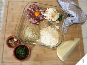 ingredienti polpettine di caciocavallo