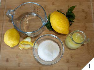granita al limone ingredienti