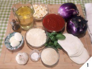 parmigiana di melanzane ingredienti