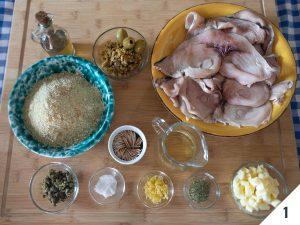 ingredienti involtini di pesce spada