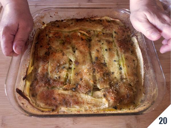 parmigiana di zucchine - calabria nel piatto