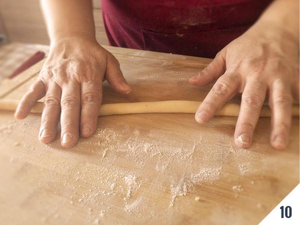 'nzuddi preparazione - calabria nel piatto
